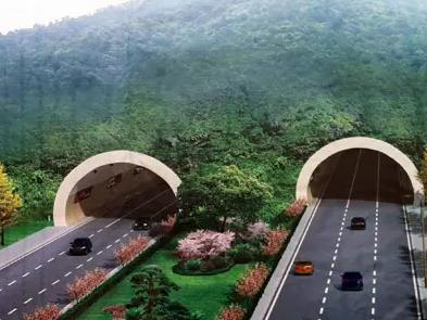 烟台境内第一隧道南延隧道施工完成
