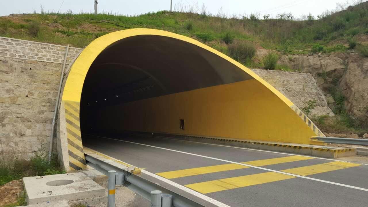 隧道防火喷涂施工案例
