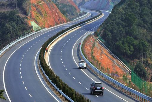 贵州六盘水到威宁高速正式通车